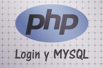 Login en PHP y MSQL