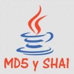 Encriptar en MD5 y SHA1 con Java