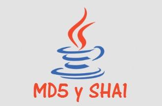 Encriptar MD5 y SHA1 con Java