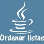 Ordenar listas en Java