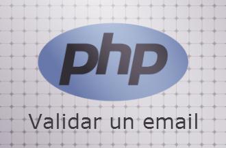 Validar email en php