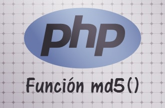 Función MD5 en PHP