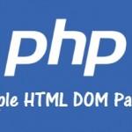 Parsear HTML en PHP