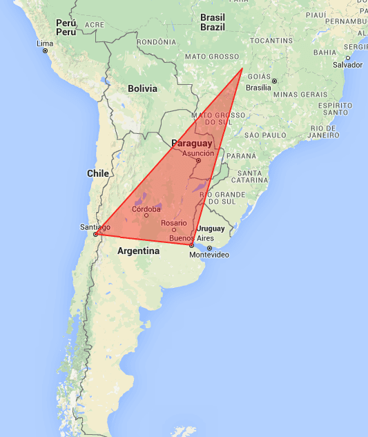 Polígono en Google Maps