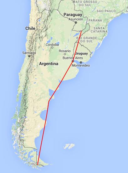 Trazar ruta en Google Maps